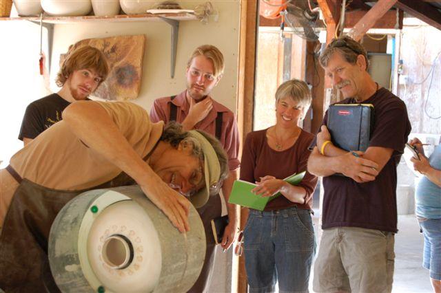 Slip casting ceramics pottery classes