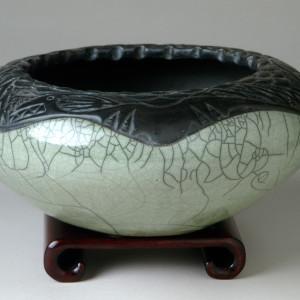 watter serp bowl sage